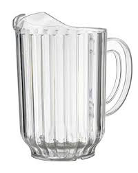 Beverage Pitcher Plastic - 60 oz