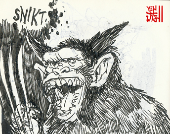 Chimp-erine? Wolver-imp? Ink