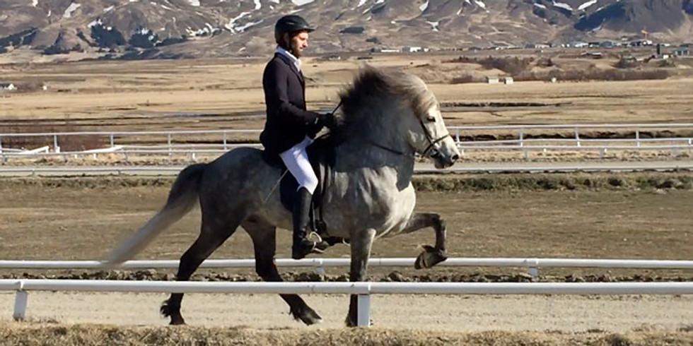 Guðmar Þór Pétursson Riding Clinic (April 26-27)