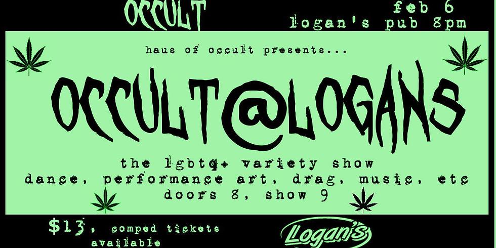 Occult at Logan's
