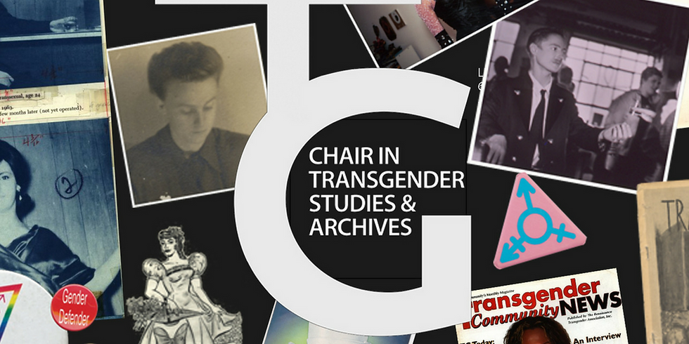 The Transgender Archives: Past, Present and Future
