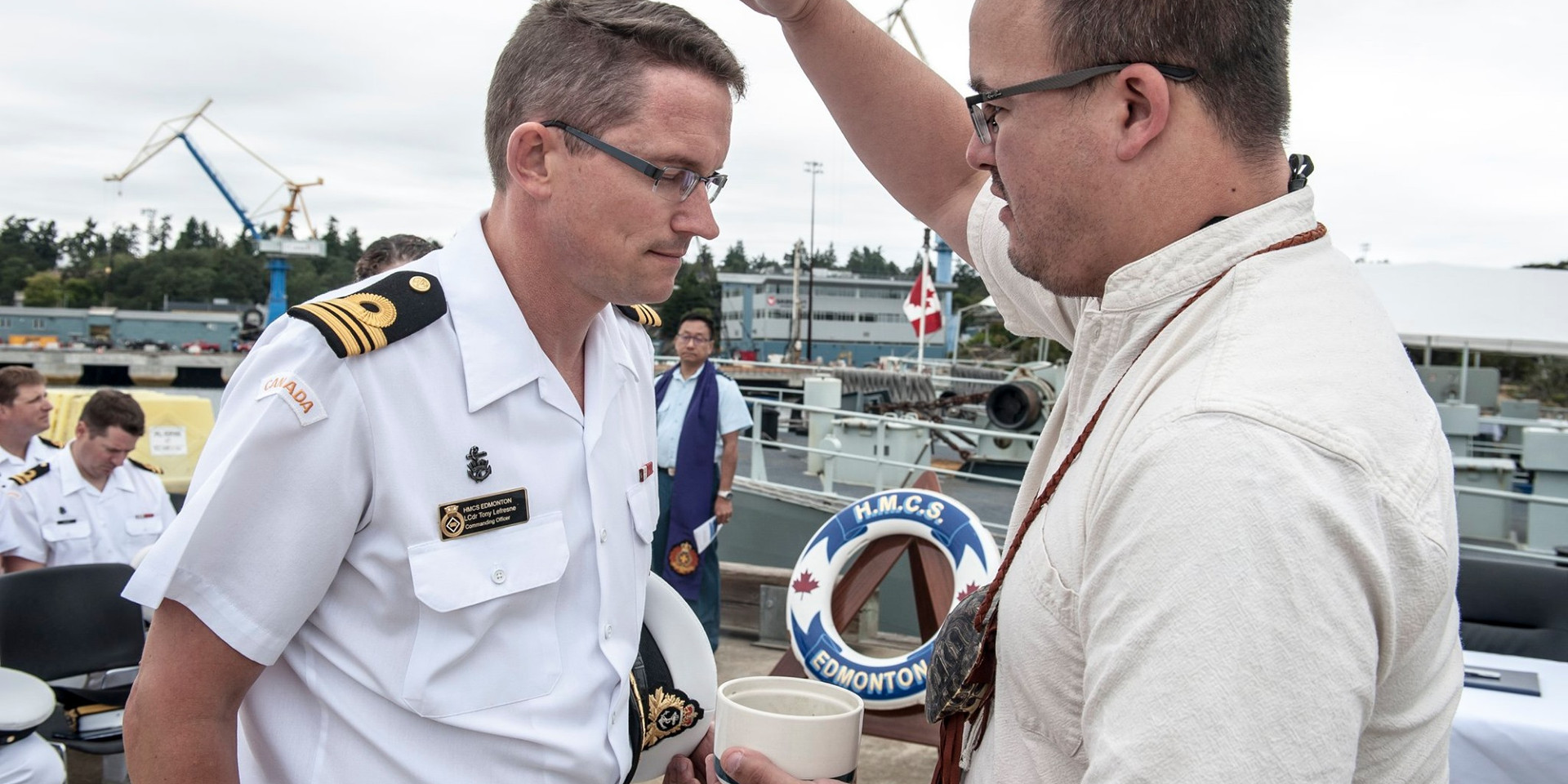 Change of Command- HMCS Edmonton
