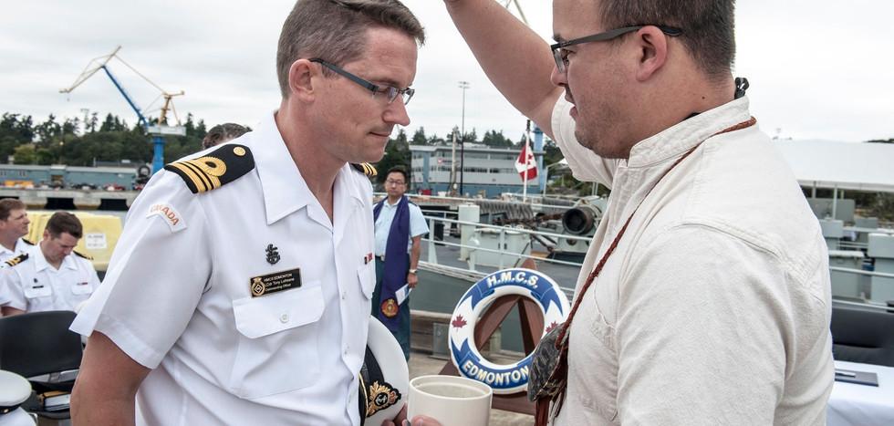 Change of Command- HMCS Edmonton