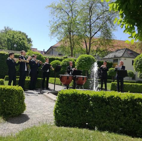 Konzert Barocktrompetenensemble Augsburg