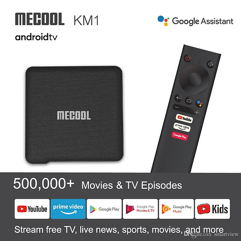 Mecool KM1 4G/32GB Androiod 10 TV OS  S905X3