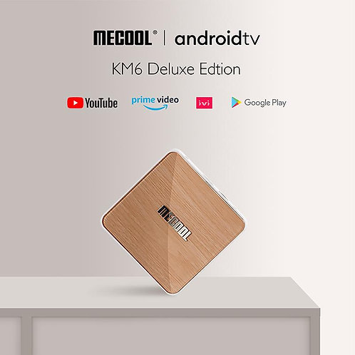 2021 Mecool KM6 Android TV OS  S905X4  4G/64Gb