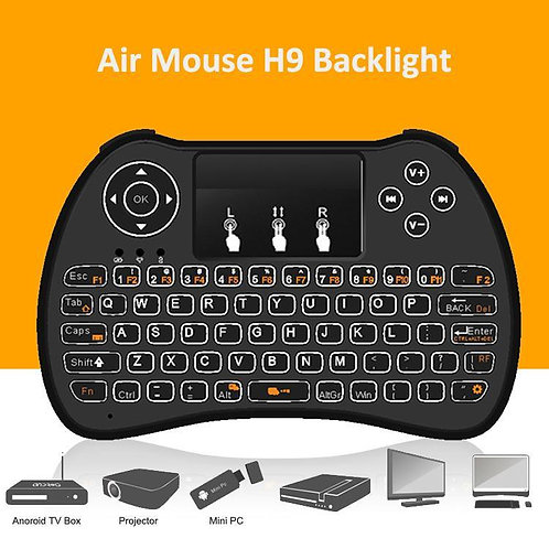 H9 Backlit Keyboard/Air Mouse