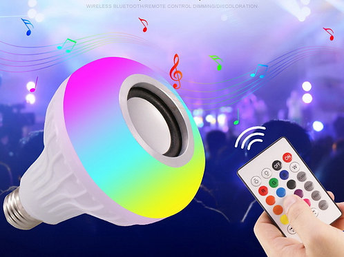 Bluetooth RGB LED and Speaker with Remote