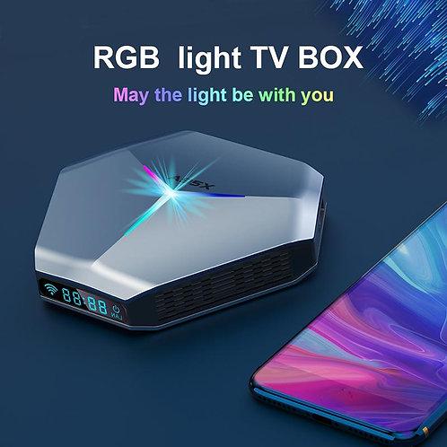 A95X F4 4G/32Gb Android 10.0 TV Box Amlogic S905X4