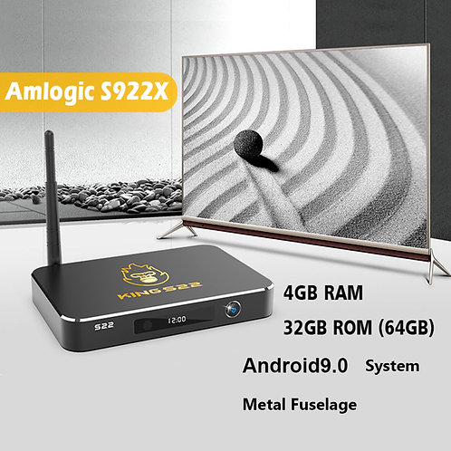 Exclusive King S22 Amlogic S922X 4G/32Gb