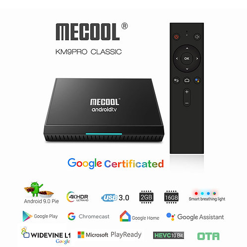 Mecool KM6 Classic Android 10 TV OS 2G/16Gb