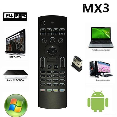 MX3 Backlit USB Keyboard Remote