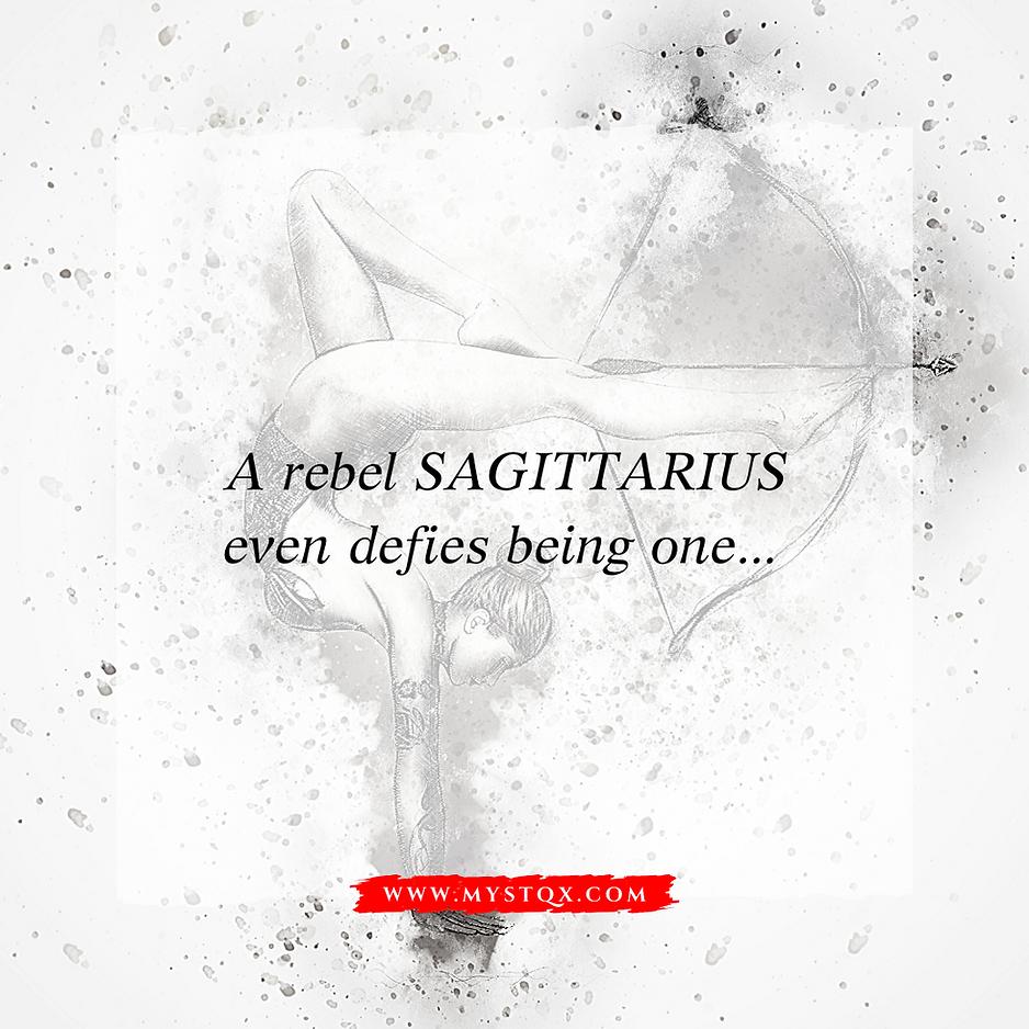 Rebel Sagittarius