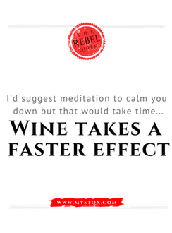 Wine takes a faster effect