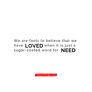 Love and Need