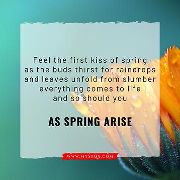 As Spring Arise
