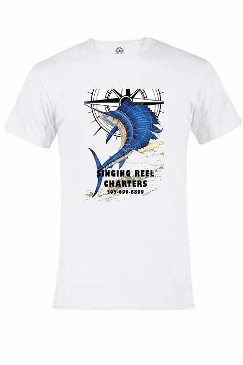 Sailfish Singing Reel Charter T-shirt short sleeve