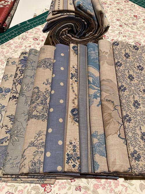 All Chambray Blue Half Metre Bundle