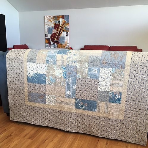 French  Squares Quilt Kit