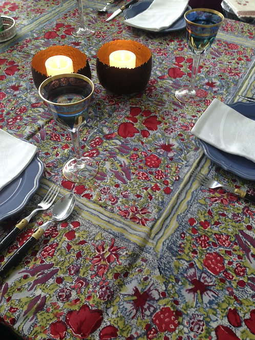 Small Square Jardin Table Cloth