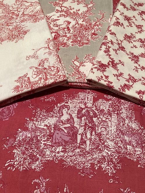 Princess Red Toile Value Pack