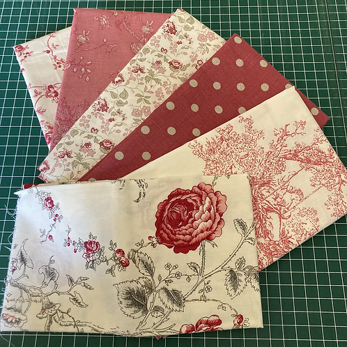 Red Toile De Jouy Pack