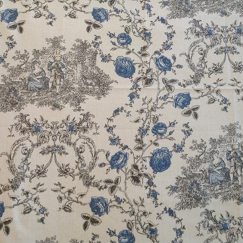 Princess Ivory Grey Blue