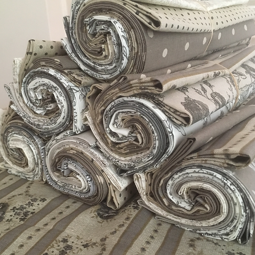 Grey Fat Quarter Bundle