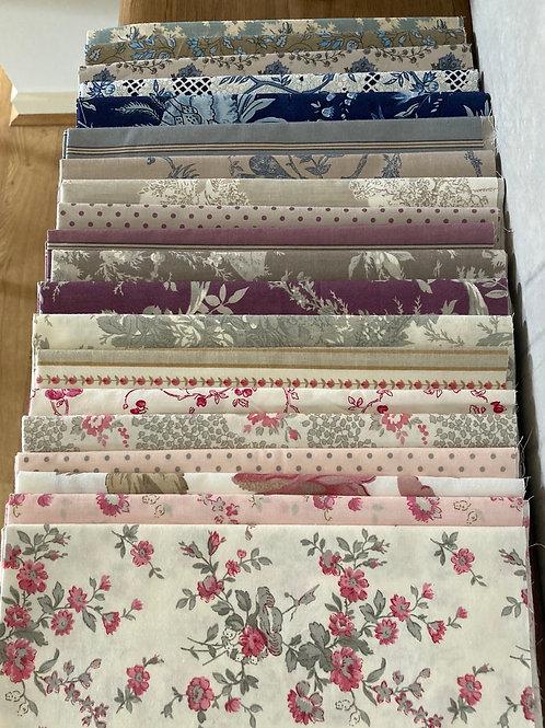 20 piece cotton only multicoloured bundle