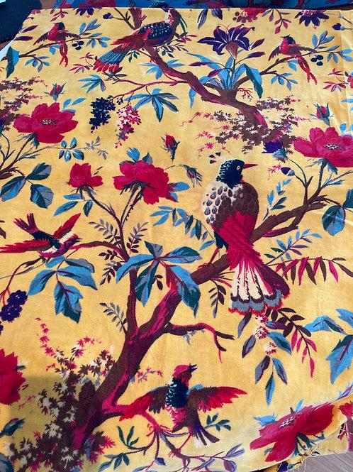 "Velvet Yellow ""Birds of a Feather"""