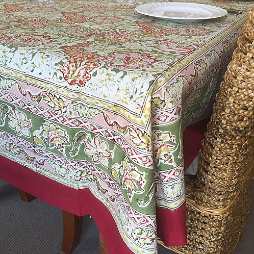 Large Square Malini Table Cloth