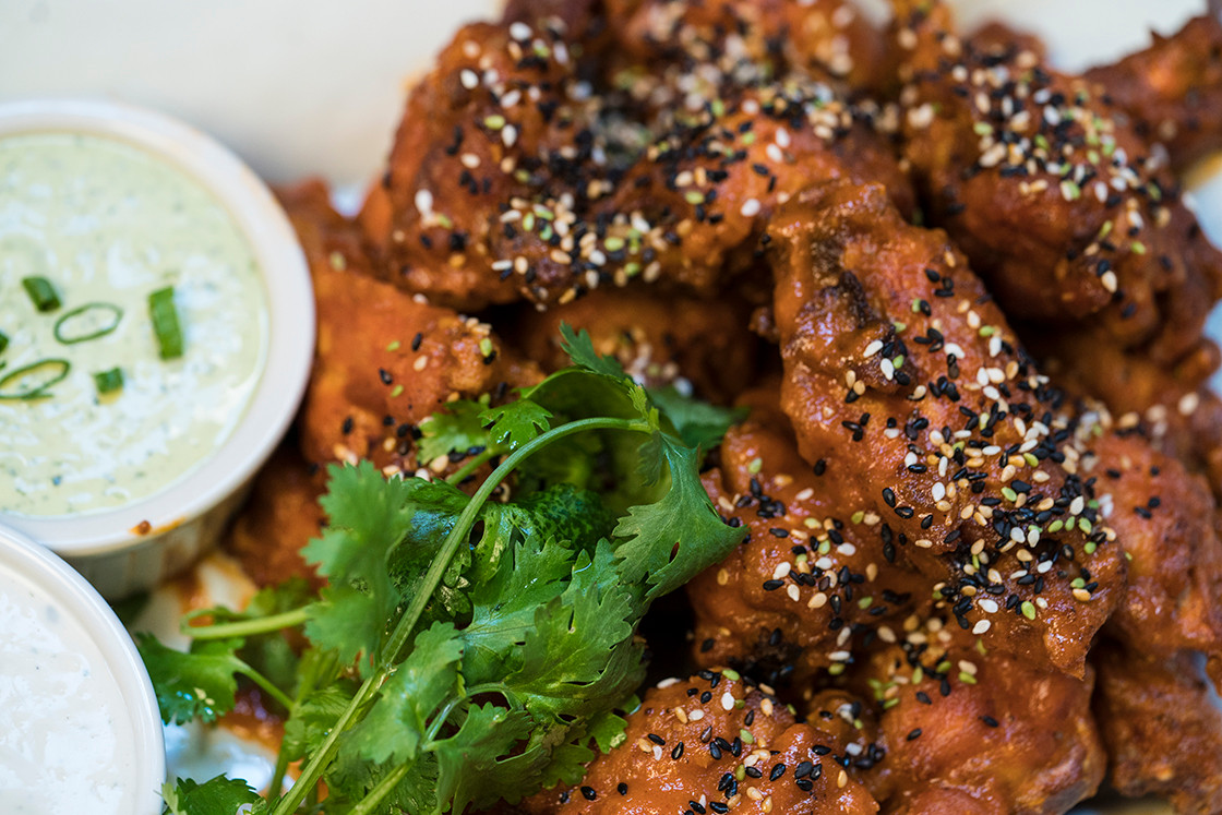 Sriracha Sesame Wings