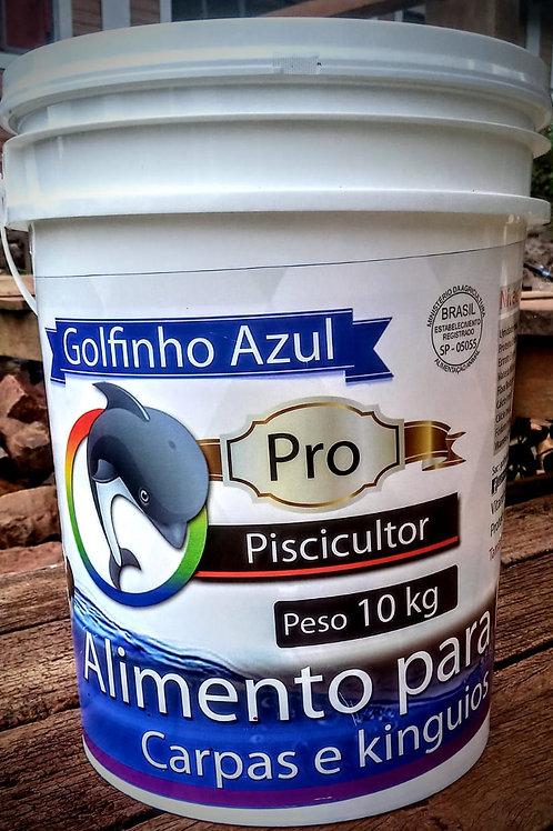 Ração Para Carpas Koi 10 kg   45% de Proteína   100% Natural !
