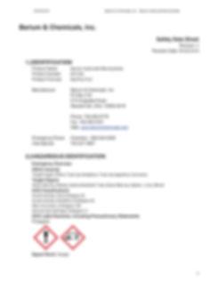 Barium Hydroxide Monohydrate SDS _Page_1