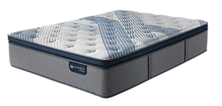 iComfort Hybrid Blue Fusion 4000 Plush Pillow Top