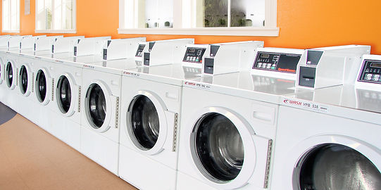 coin washer and dryer