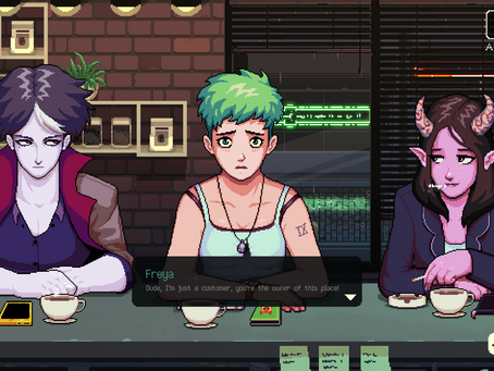 If These Drinks Could Speak: Class and Labour in VA-11 HALL-A and Coffee Talk