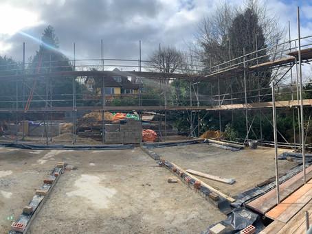 Progress in Sevenoaks!