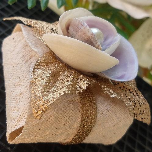 (20 unidades) de embalagens para bem casados de conchinhas