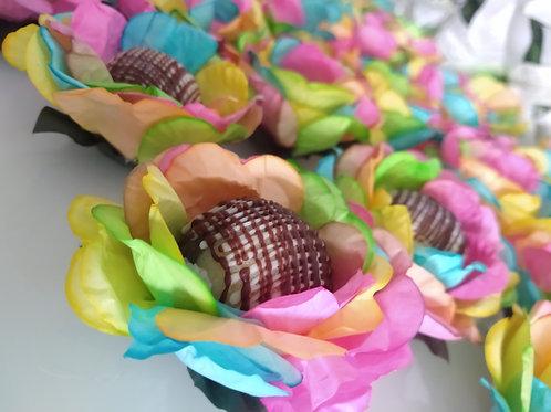 (50 unidades) Forminhas de papel Tie Dye