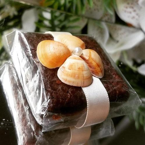 (50 unidades) Topos para brownie e alfajor