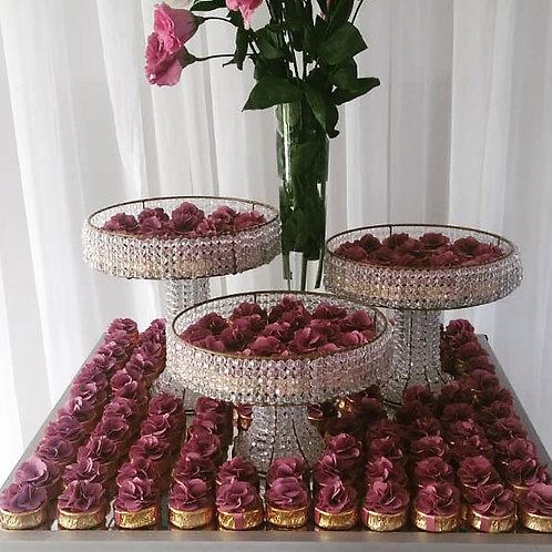 (50 unidades) topos para brownie, alfajor ou bem casado.