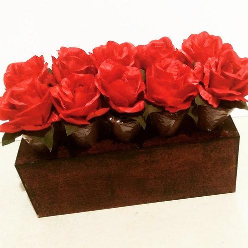 (20 unidades) Topos para cones trufados, brownie ou  alfajor