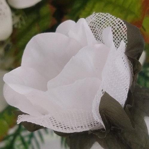 (50 unidades) forminhas de tecido com tela escócia lisa
