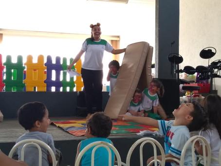 Semana da Educação Infantil no CEDUC Jd das Palmeiras