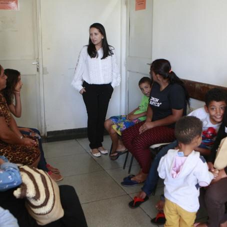 Assistentes sociais começam acolhimento dos pacientes nas UAIs