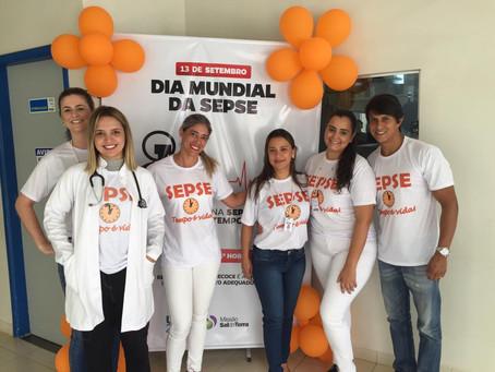 Dia Mundial da Sepse na UPA Araguari