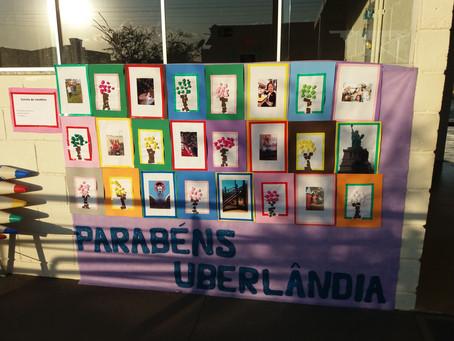 Aniversário de Uberlândia no Centro Educacional Helder Castro de Bastos