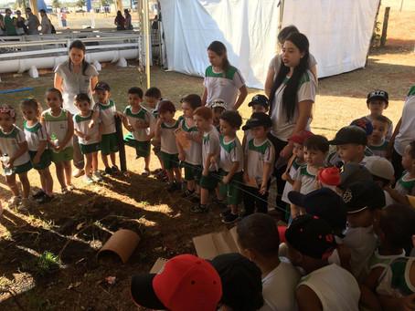 Visita na Fazendinha do CEDUC Sérgio Henrique Martinelli