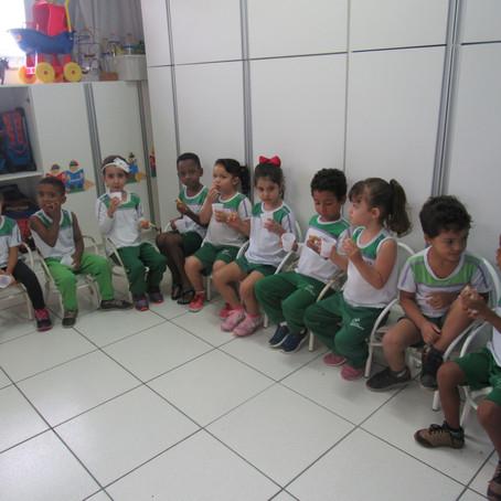 Dia das crianças no CEDUC São Jorge
